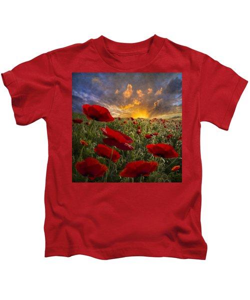 Poppy Field Kids T-Shirt