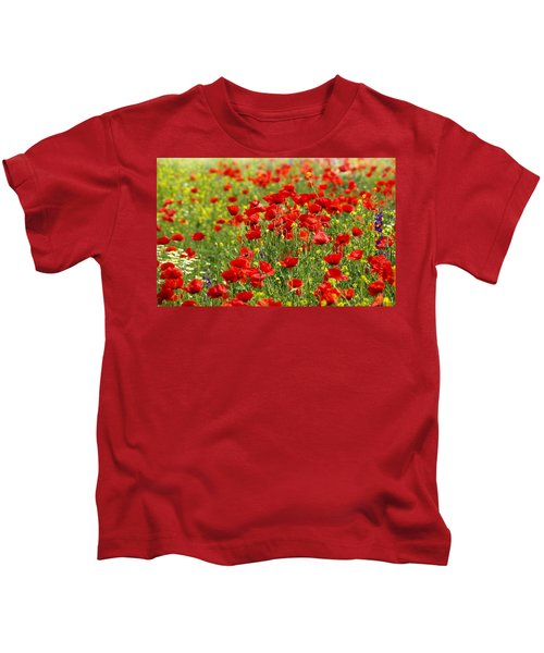 Poppy Field Kids T-Shirt