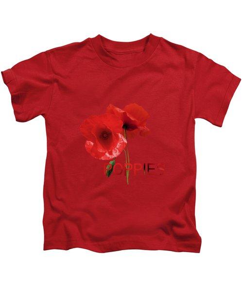 Poppy Reverie Kids T-Shirt