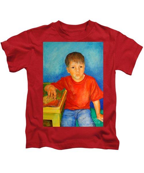 Portrait Andres Kids T-Shirt