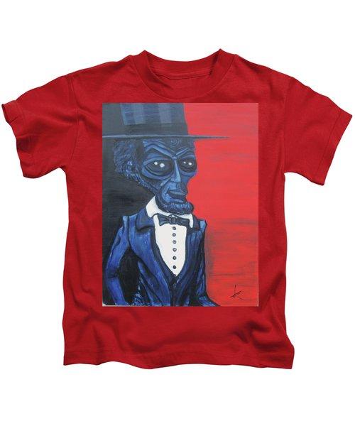President Alienham Lincoln Kids T-Shirt