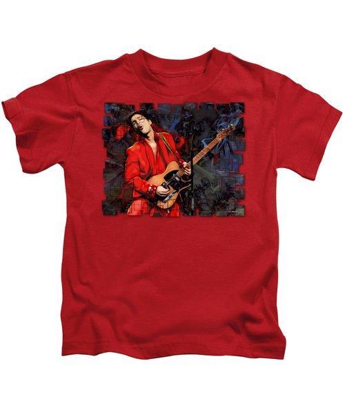 Prince Abstract Cut Kids T-Shirt
