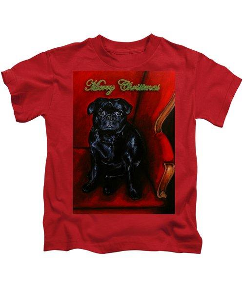 Puggsley Christmas Kids T-Shirt
