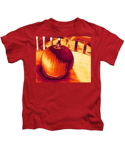 Pumpkin #3 Kids T-Shirt