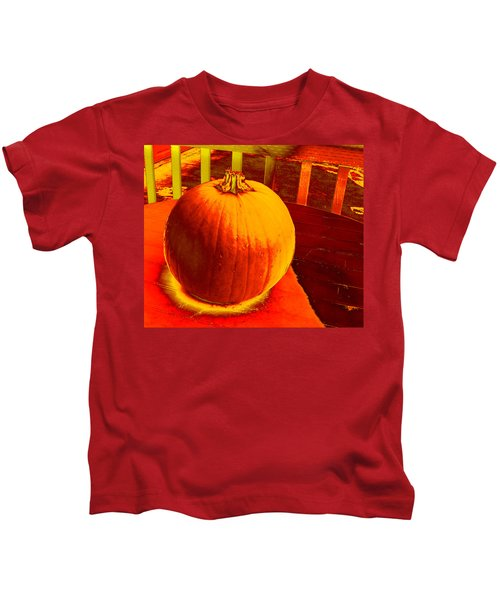 Pumpkin #4 Kids T-Shirt