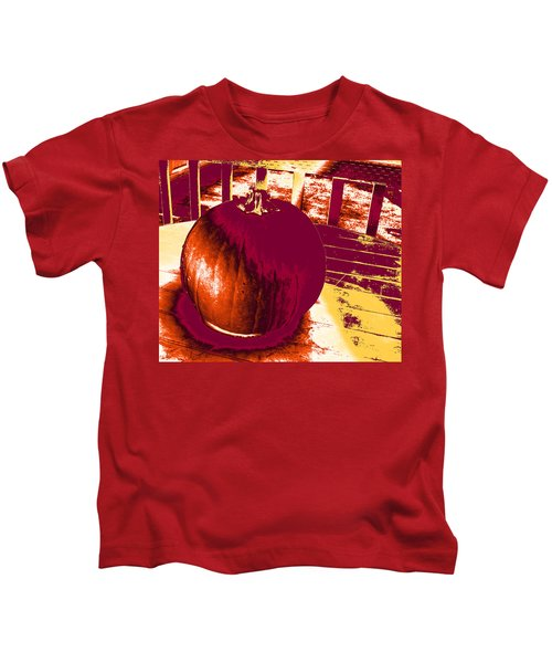 Pumpkin #5 Kids T-Shirt