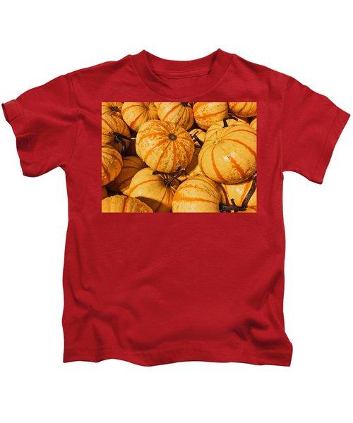 Pumpkin Harvest Kids T-Shirt
