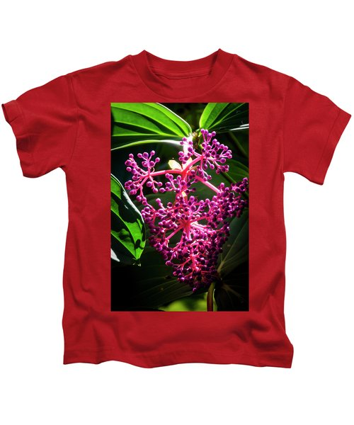 Purple Plant Kids T-Shirt