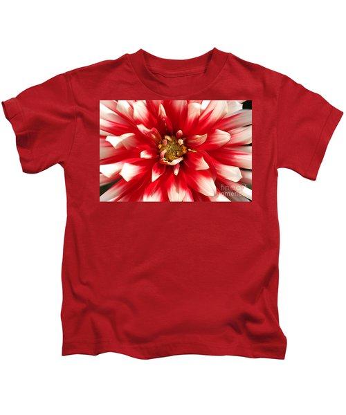 Radiant Dahlia Kids T-Shirt