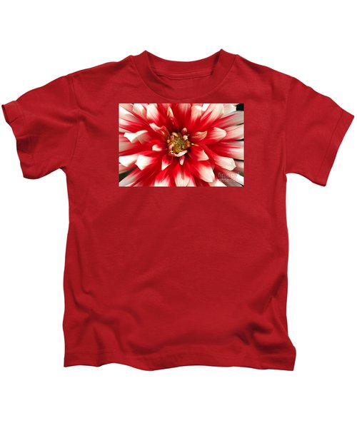 Radiant Dahlia Kids T-Shirt