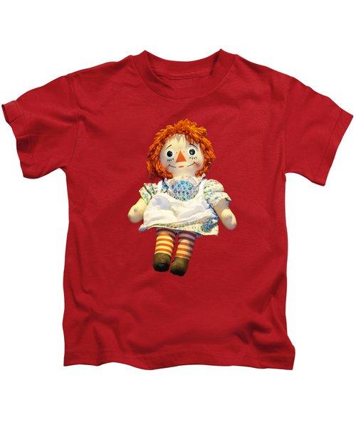 Raggedy Ann Doll Kids T-Shirt