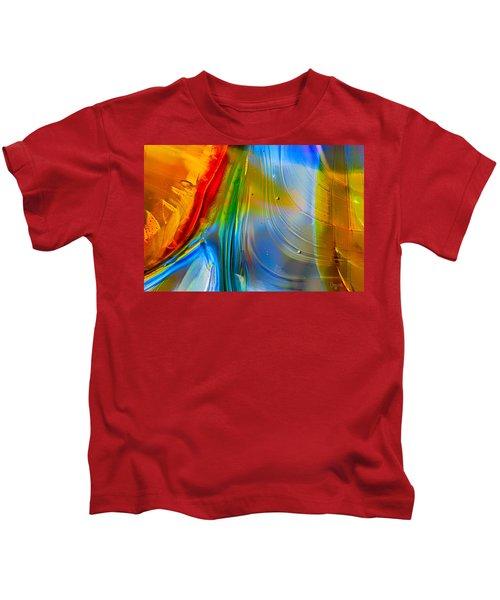 Rainbow Waterfalls Kids T-Shirt