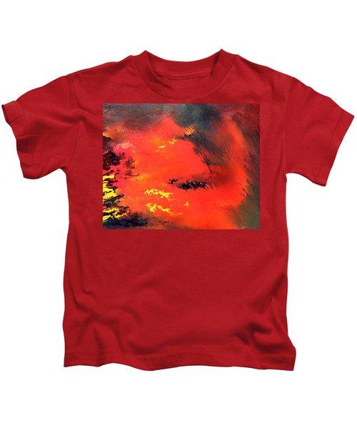 Raining Fire Kids T-Shirt