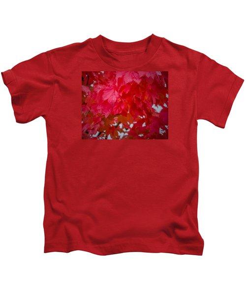 Ready To Fall Kids T-Shirt