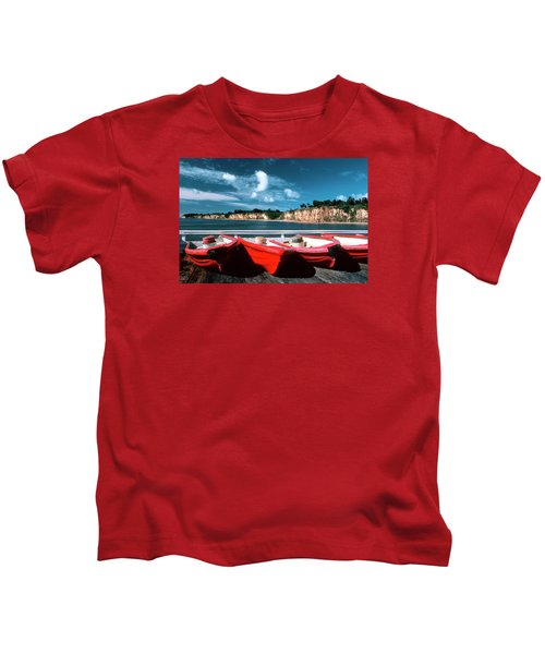 Red Boat Diaries Kids T-Shirt