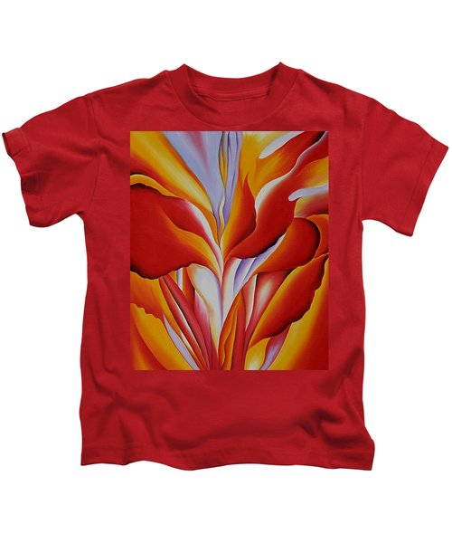 Red Canna Kids T-Shirt