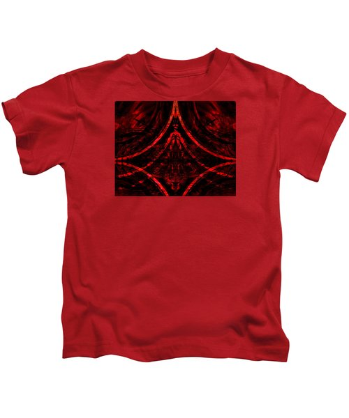 Red Competition Kids T-Shirt