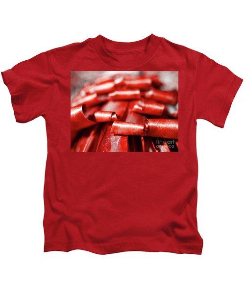Red Curls Kids T-Shirt