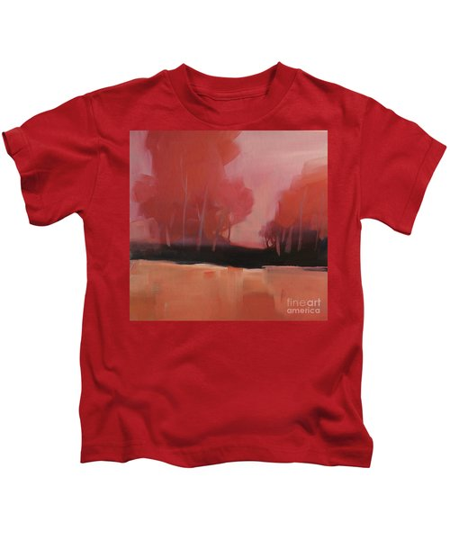 Red Flair Kids T-Shirt