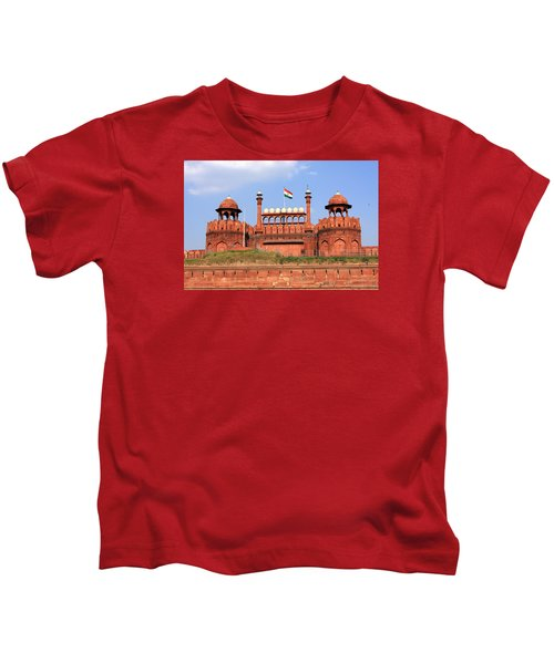 Red Fort New Delhi Kids T-Shirt