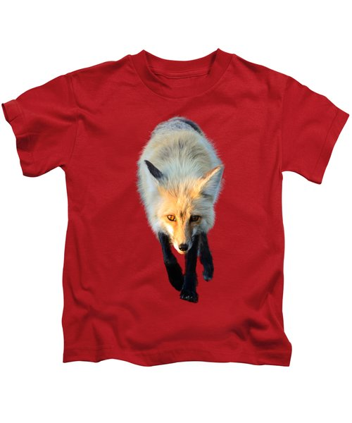 Red Fox Shirt Kids T-Shirt