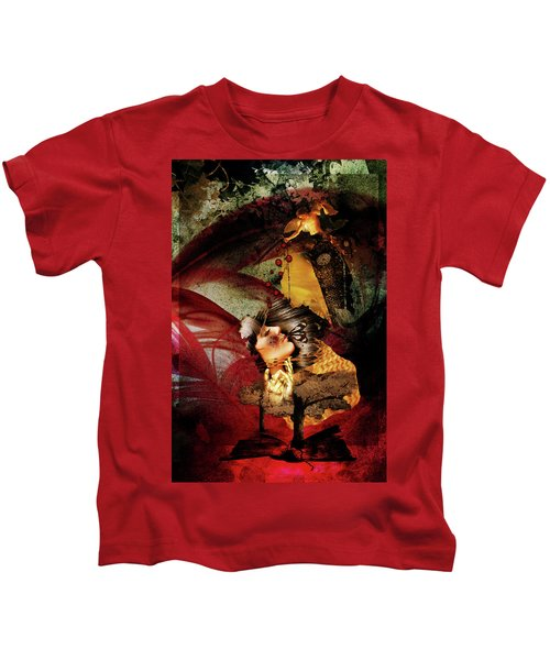 Red Girl Kids T-Shirt