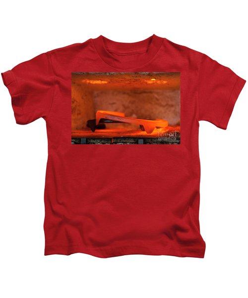 Red Hot Horseshoe Kids T-Shirt