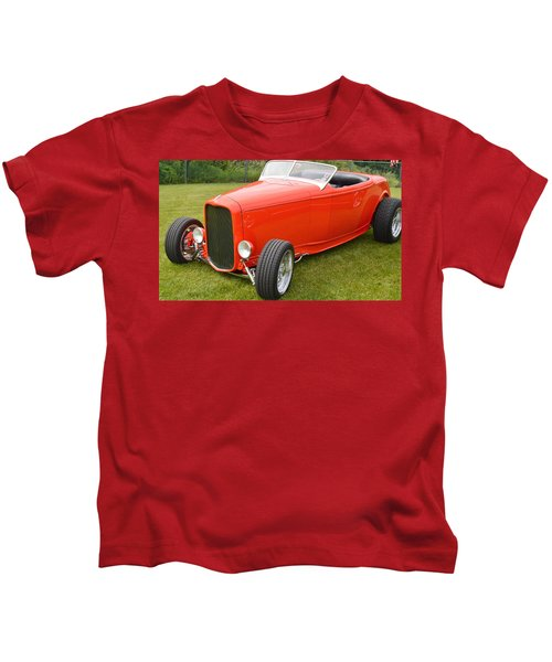 Red Hot Rod Kids T-Shirt