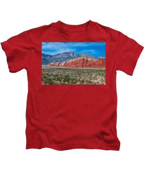 Red Rock Canyon Kids T-Shirt