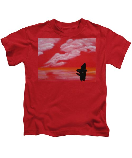 Red Sky1 Kids T-Shirt