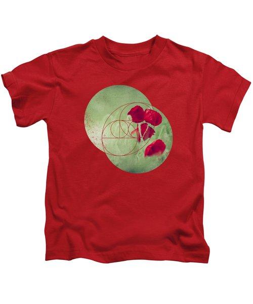 Red Spots - Poppies In A Field Kids T-Shirt