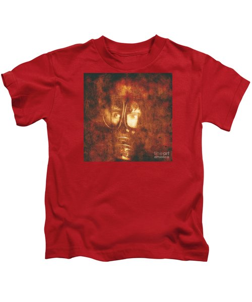 Red States Of Emergency  Kids T-Shirt