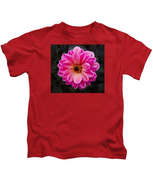 Reddish Dahlia Kids T-Shirt