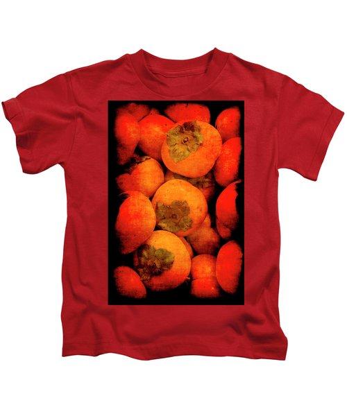 Renaissance Persimmons Kids T-Shirt