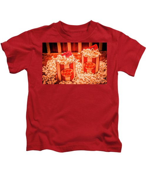 Retro Film And Entertainment Scene Kids T-Shirt