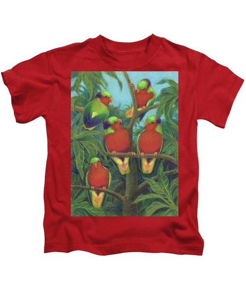 Rimatara Lorikeets Kids T-Shirt