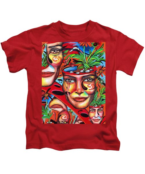Ripening Of A Lucid Psyche Kids T-Shirt