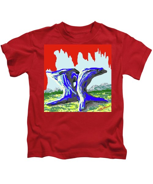 Rock Formations Kids T-Shirt