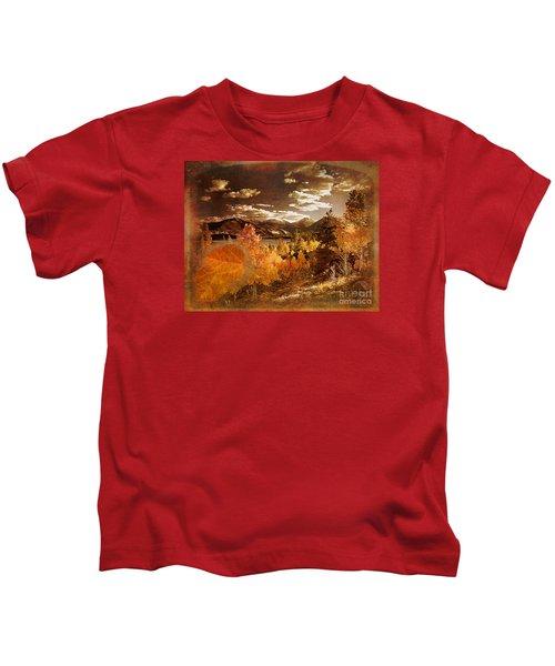 Rocky Mountain Gold 2015 Kids T-Shirt