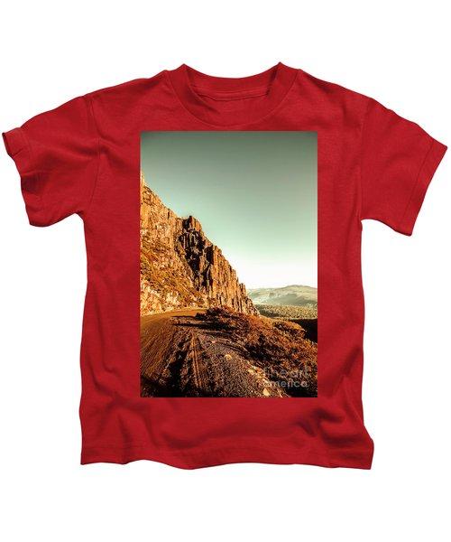Rocky Mountain Route Kids T-Shirt