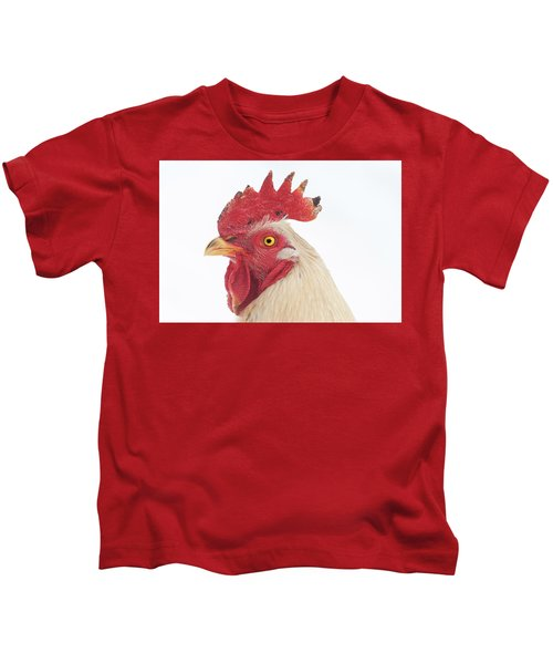 Rooster Named Spot Kids T-Shirt