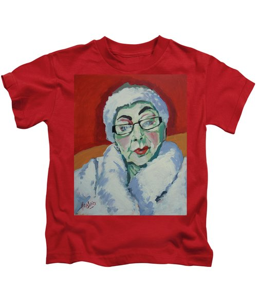 Ruby May Box Birmingham Kids T-Shirt by Nop Briex