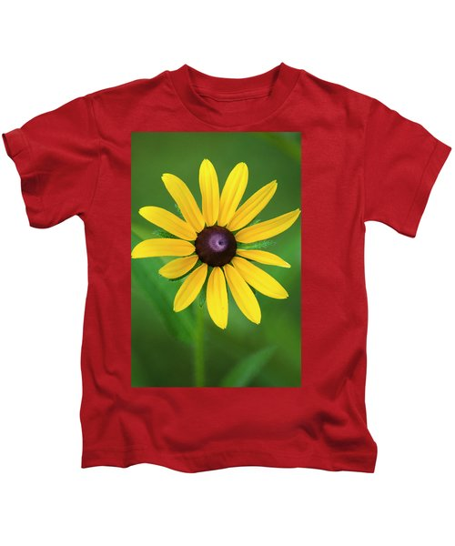 Rudbeckia Flower Kids T-Shirt