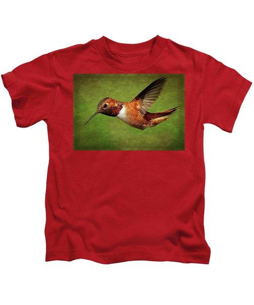 Rufous Portrait Kids T-Shirt