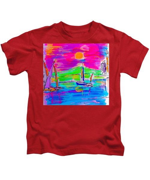 Sail Of The Century Kids T-Shirt
