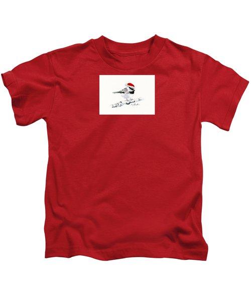 Santa Bandit - Chickadee Kids T-Shirt