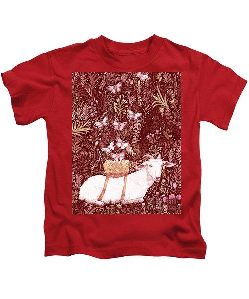 Scapegoat Healing Tapestry Print Kids T-Shirt