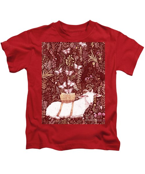Scapegoat Healing Tapestry Print Kids T-Shirt