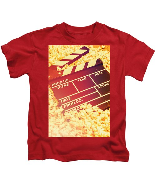 Scene From An American Movie Kids T-Shirt