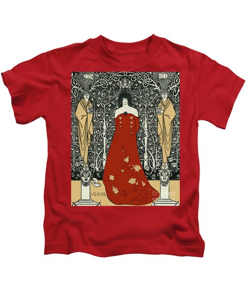 Scene From Tannhauser By Richard Wagner Kids T-Shirt